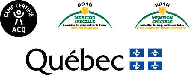 2010 - Mention spécial ACQ : programation. 2010 - Mention spécial : Innovation et développement. Québec